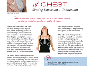 Sensing Expansion + Contraction!!