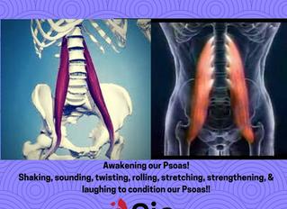 Awakening Our Psoas!!