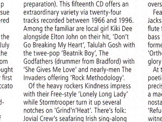 Missing Music 5 Review in RnR Magazine