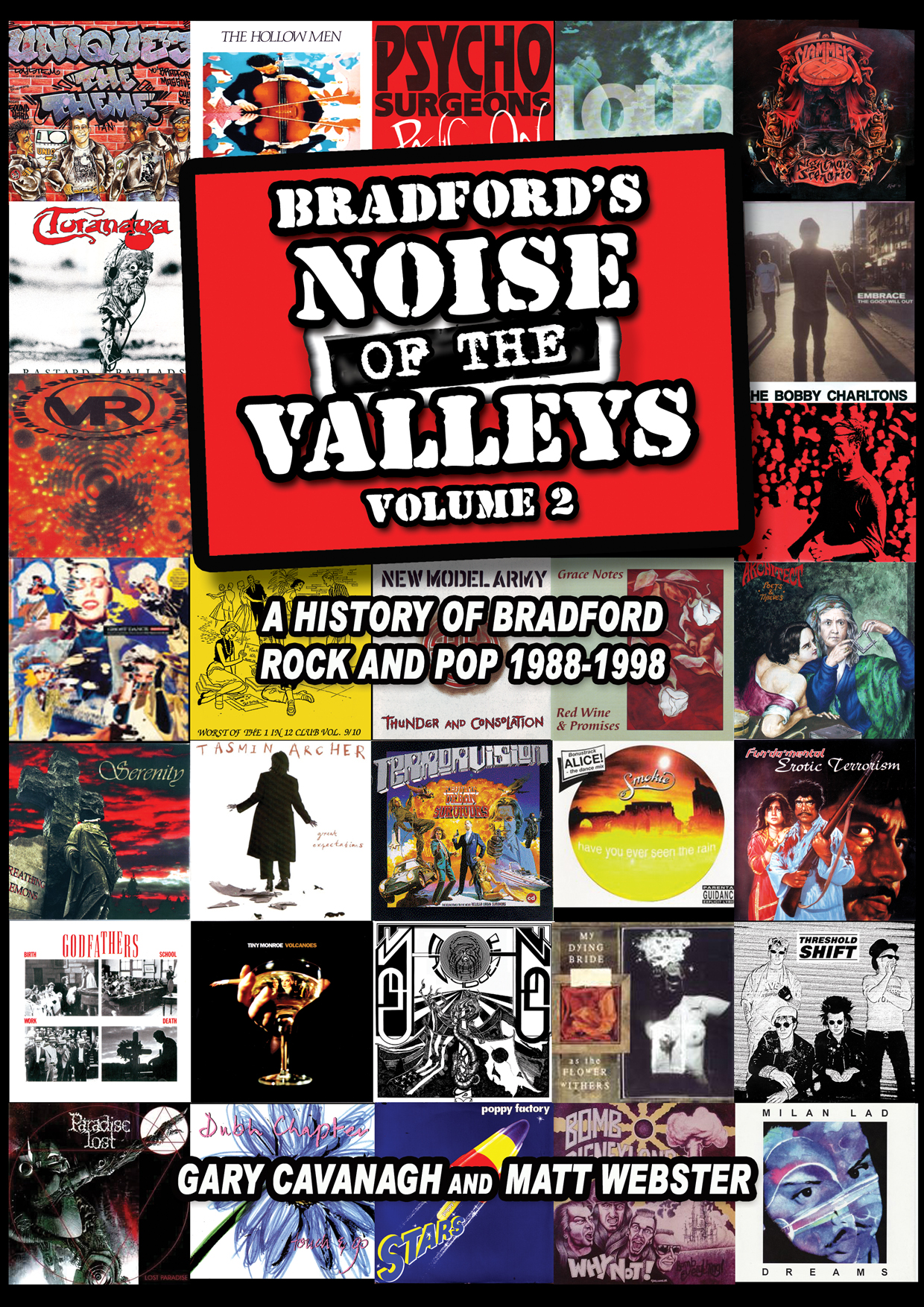 Bradford's Noise Of The Valleys Volume 2 cover