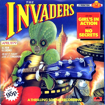 The Invaders - Girl's In Action