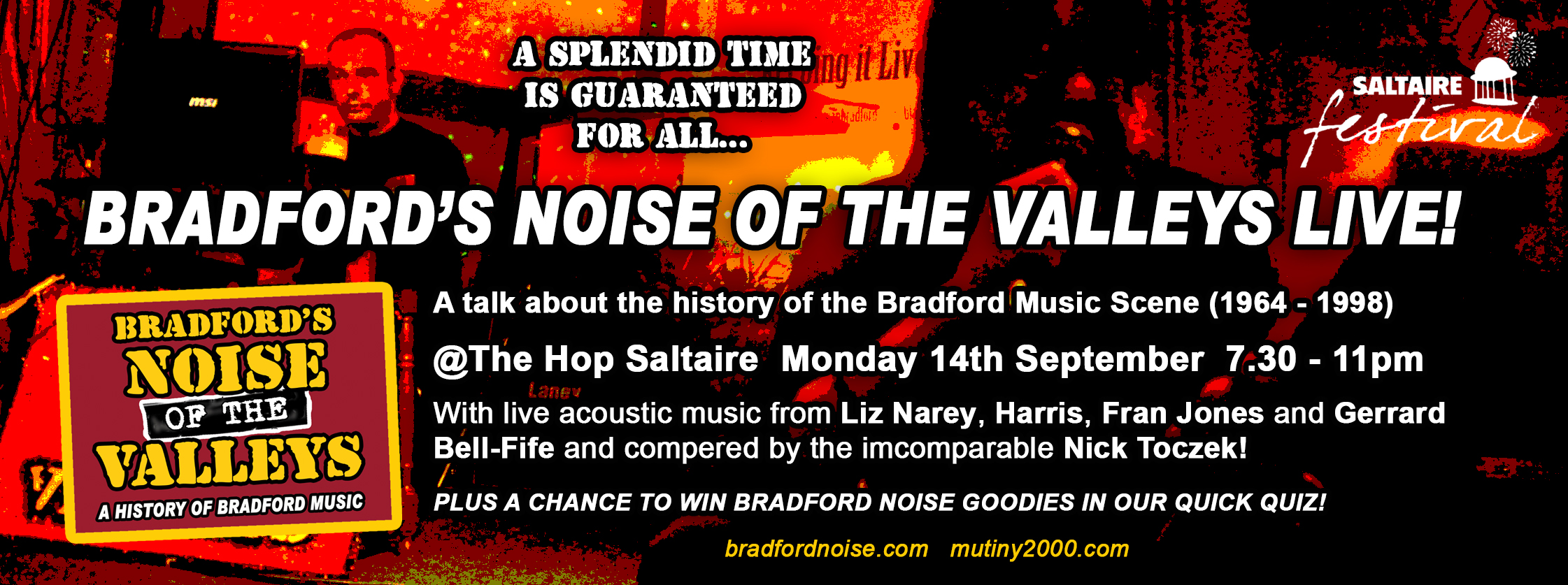 Saltaire Festival Facebook banner