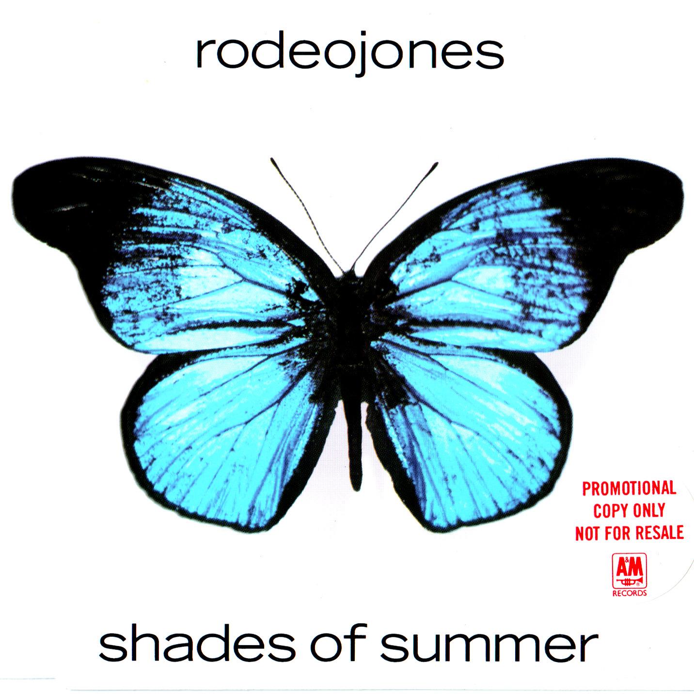 Rodeo Jones - Shades Of Summer