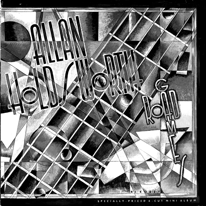 ALLAN HOLDSWORTH LP COVER BW