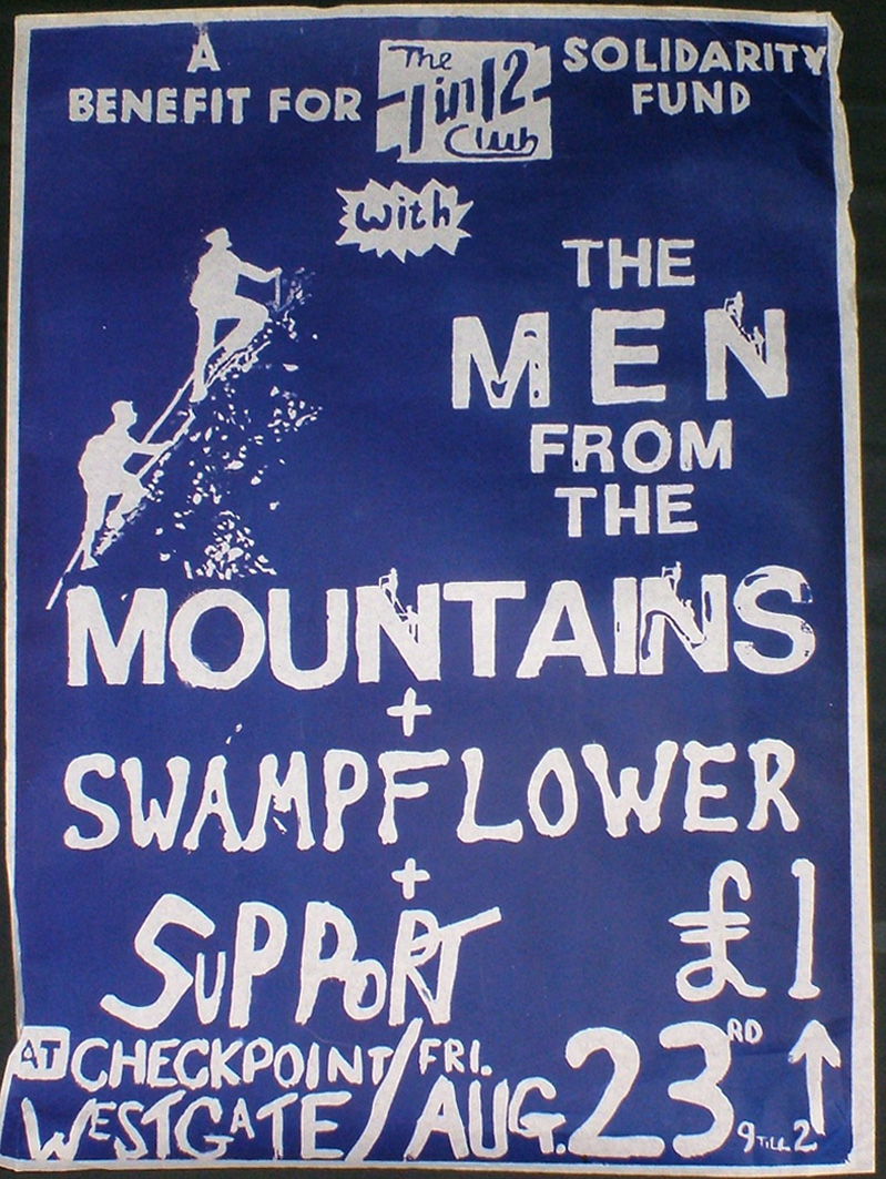 1 In 12 Club poster Men From The Mountains & Swamp Flower
