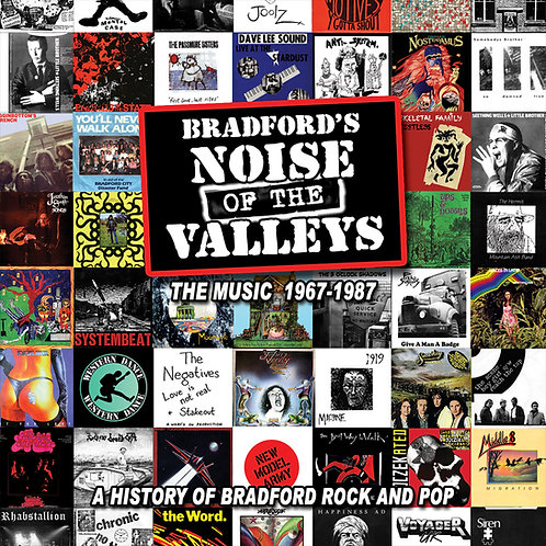 Bradford's Noise Of The Valleys the Music 4 CD Set
