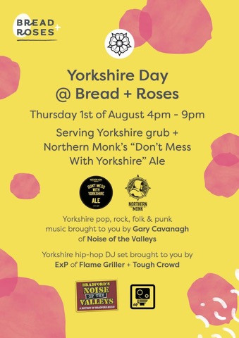 Yorkshire Day @ Bread & Roses