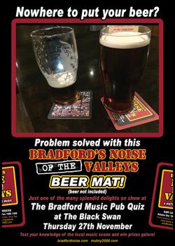 Bradford Noise Pub Quiz Ad