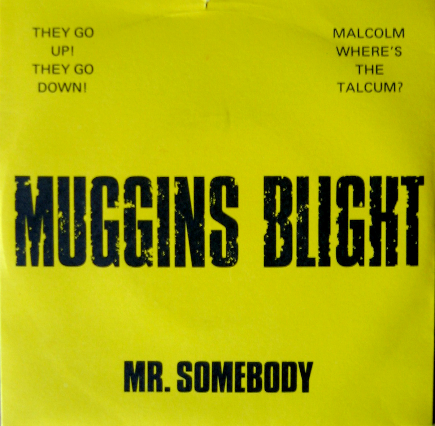 Muggins Blight - Mr Somebody