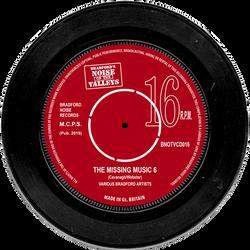 Bradford Noise 16 Missing Music 6 label.
