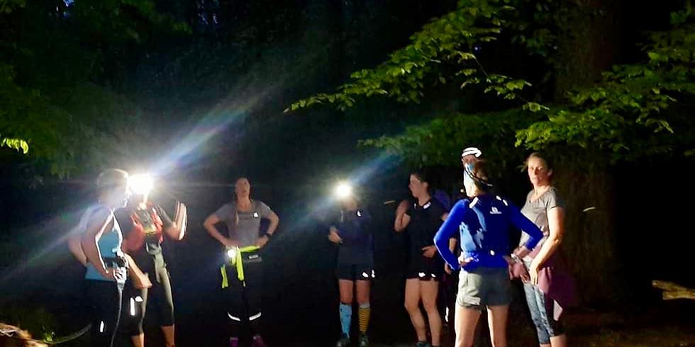 Black Down 10km Women's Night Trail Run