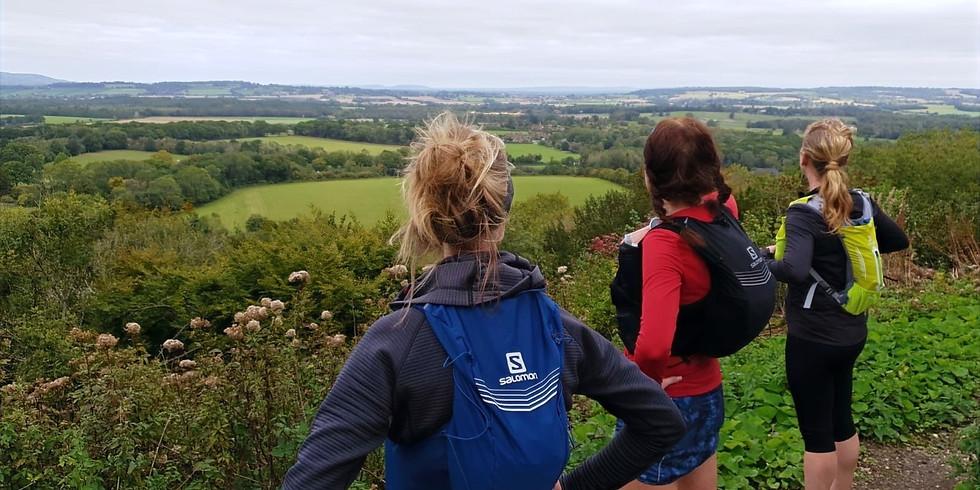 She Runs Outdoors Bignor Hill to Duncton Hill 16km Women's Trail Run