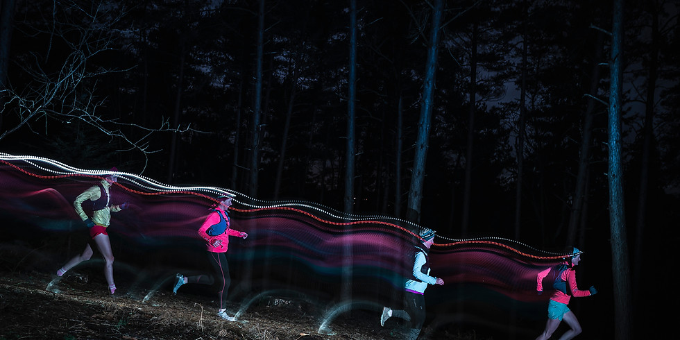 Pitch Hill and Winterfold Forest 8km Women's Night Trail Run
