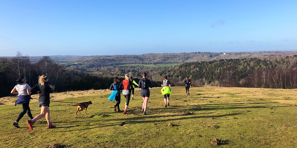 Box Hill 1/2 Marathon Distance, Women's Trail Run