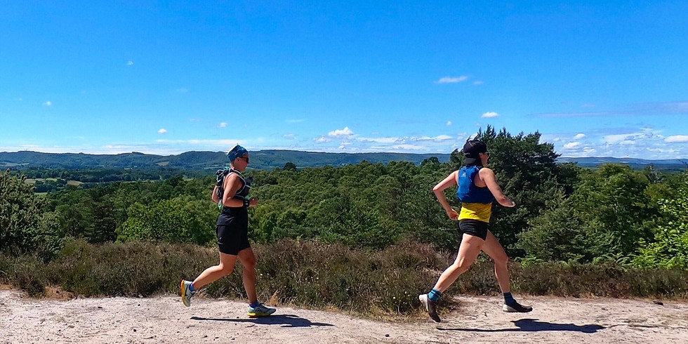 She Runs Outdoors Bedham to Fittleworth 16km Women's Trail Run