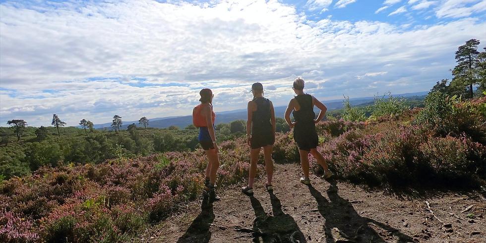 She Runs Outdoors Serpent Trail Marathon Distance Women's Trail Run