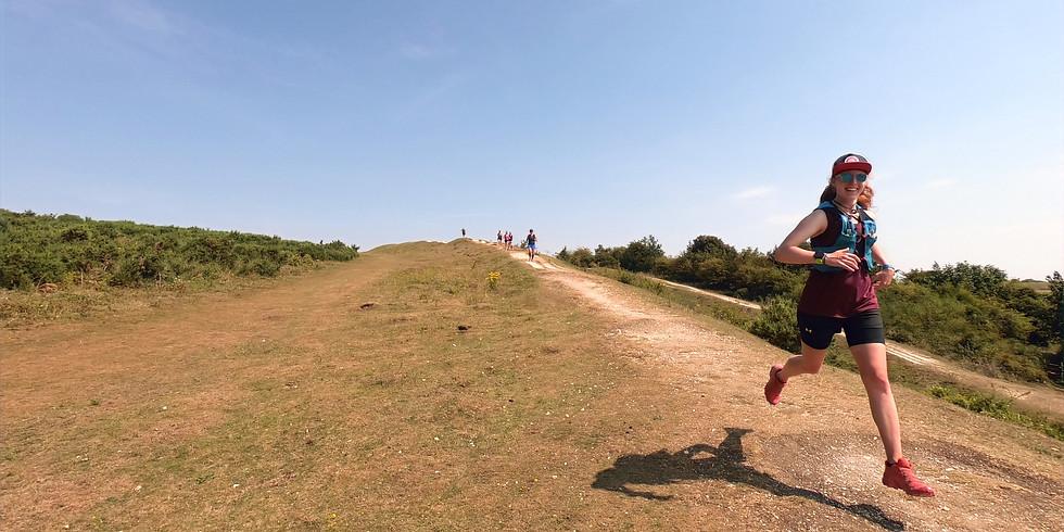 She Runs Outdoors Cissbury Ring 10 km Women's Trail Run