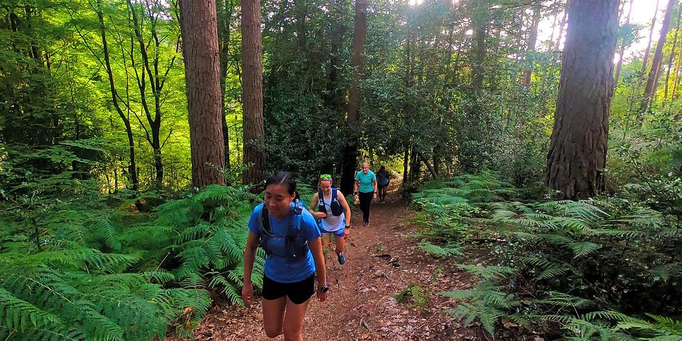 She Runs Outdoors Hurtwood 13km Women's Trail Runs
