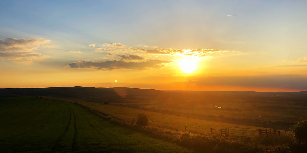 Kithurst and Rackham Hill Sunset 10k