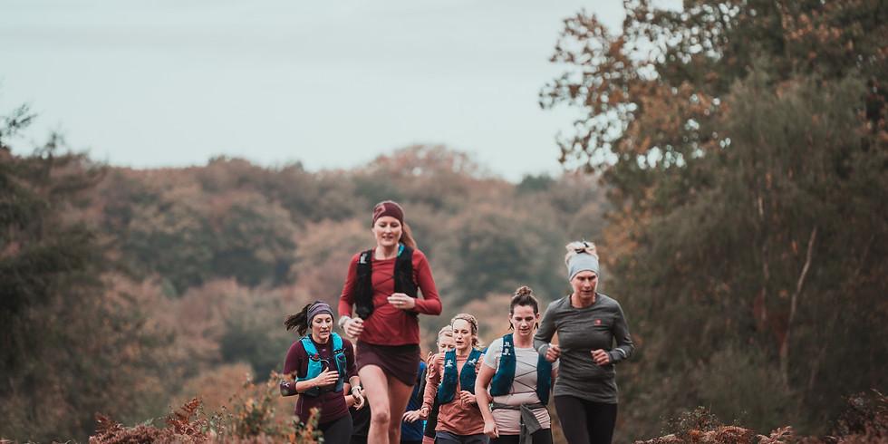 She Runs Outdoors Hurtwood 16km Women's Trail Run