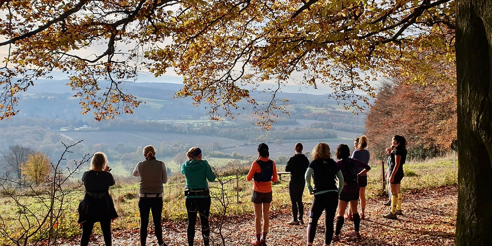 She Runs Outdoors Ranmore Common 11km Women's Trail Run