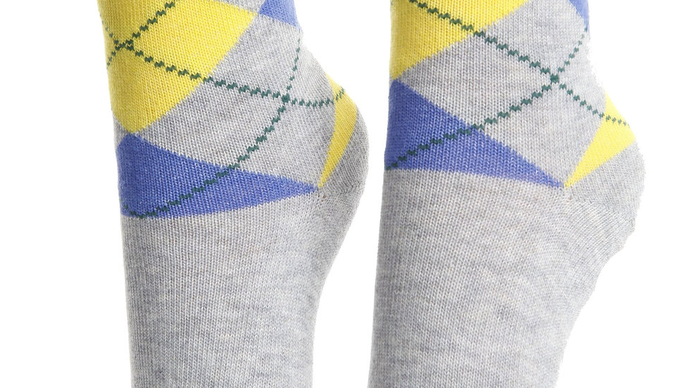 BENJAMIN grey Petit cotton socks