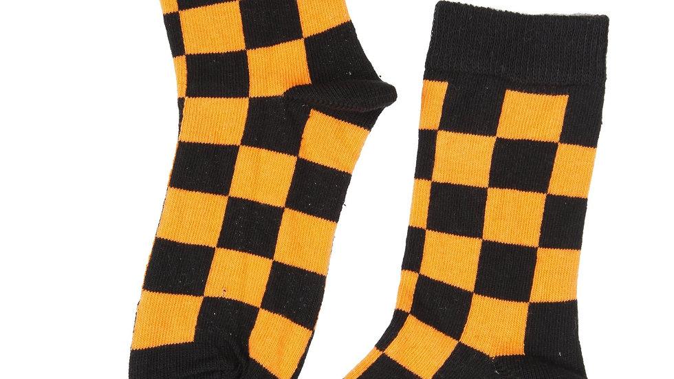 NYC Taxi-cab cotton socks, orange colour