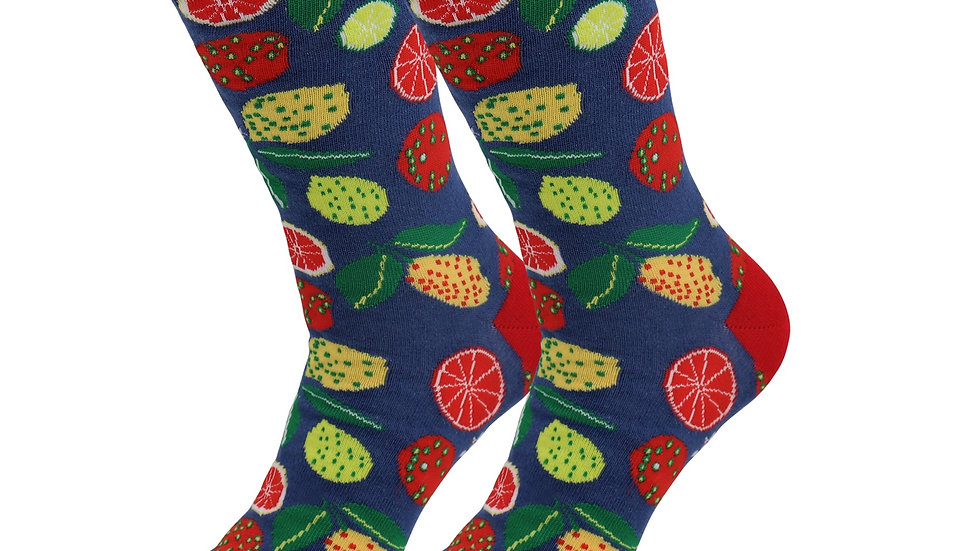 Sick Socks – Lemon / Lime – Casual Dress Socks