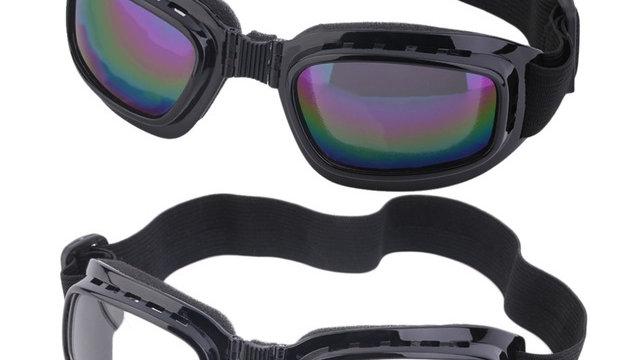 Unisex Safety Goggles Foldable Transparent Anti
