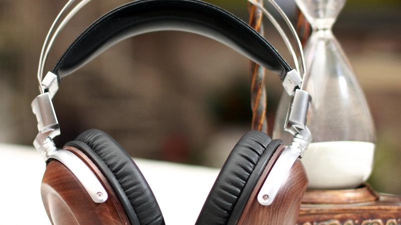Classic 50mm Wood HIFI Headphones