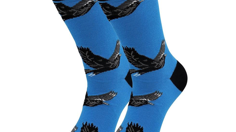 Sick Socks – Eagle – Exotic Animals Casual Dress Socks
