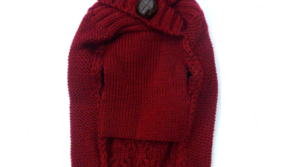 Cable Knit Sweaters / Jumpers in  Blue, Berry, Beige, Black, Gray