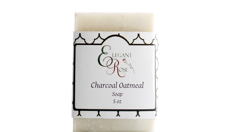 Charcoal Oatmeal Soap - Natural Soap Bar