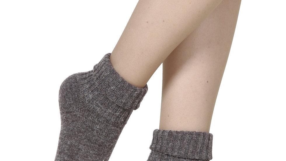 ALPAKA mocca socks