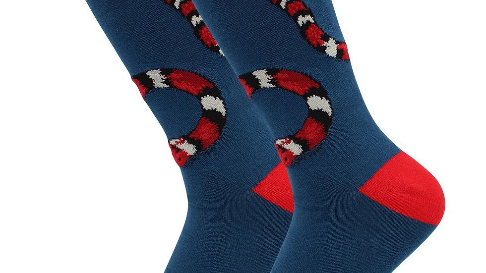 Cute Casual Designer Trending Animal Socks -Snake - for Women