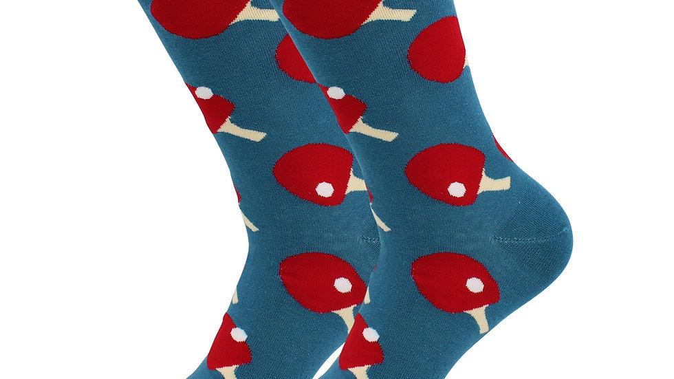 Sick Socks – Ping-Pong – Off The Wall Casual Dress Socks