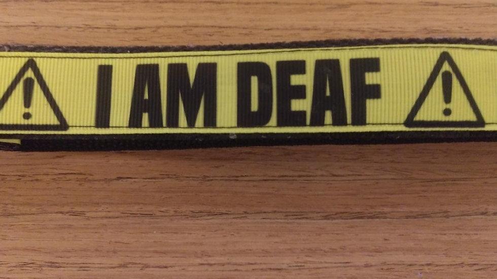 Service Leash/ Large/  Deaf