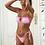 Thumbnail:  2021 New Knot Printed Low Waist Two Pieces Bikini Set Swimsuit
