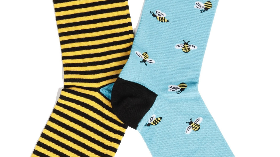 BUG women's socks with bees