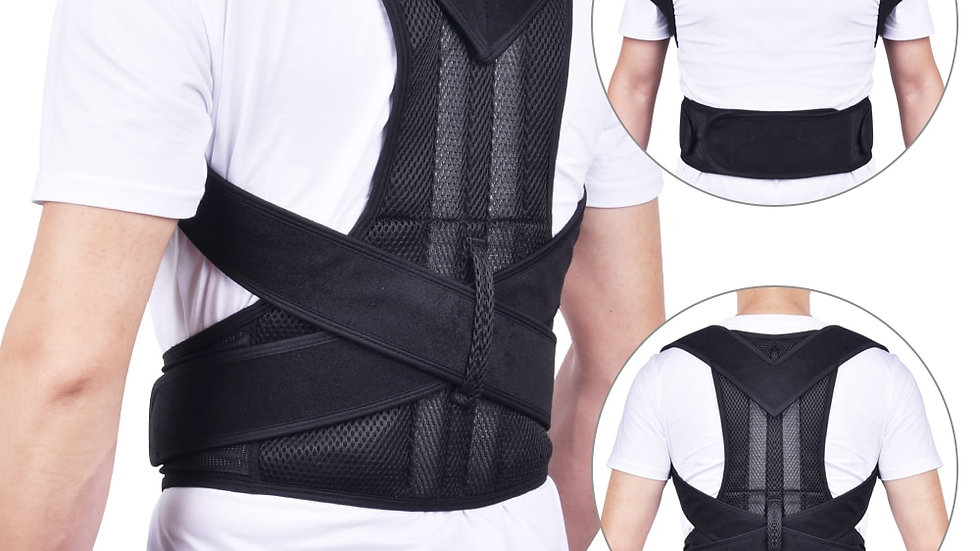 Adjustable Back Brace Posture Corrector Shoulder