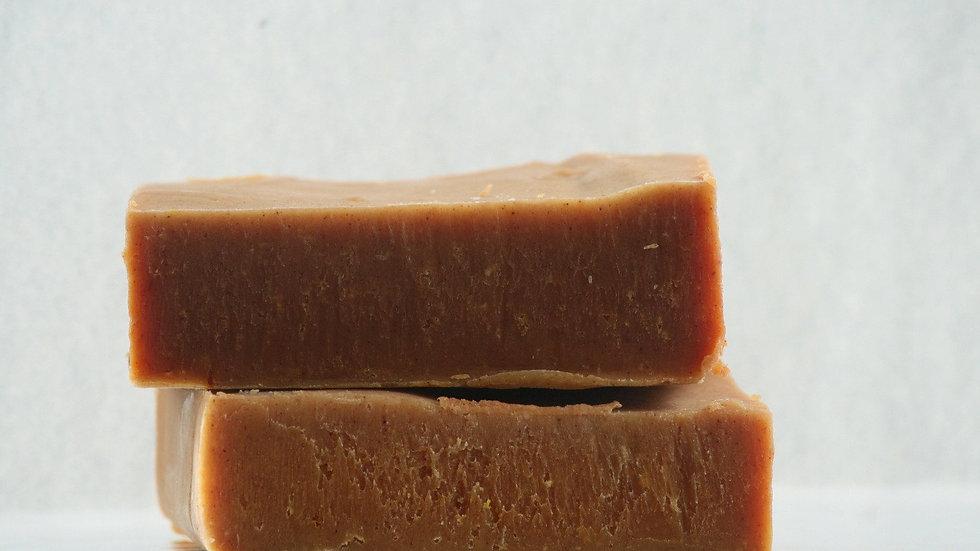 Sandalwood Turmeric Soap Bar, No coconut oil, No