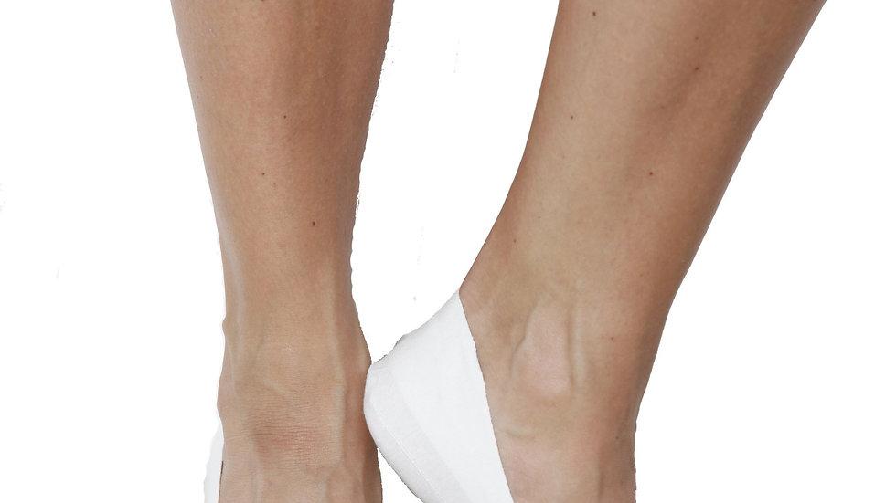 CHICAGO low-cut women's socks, white