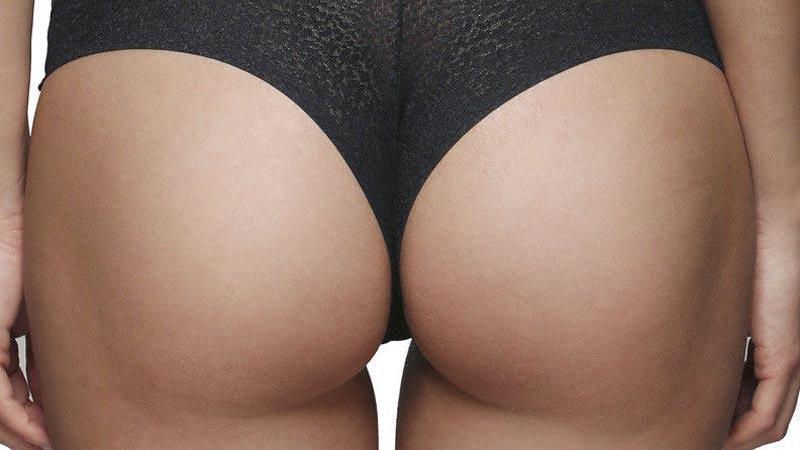 Animal Print Brazilian Brief Panty Gossard Glossies
