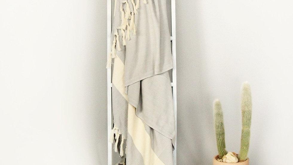 Classic Herringbone Blanket