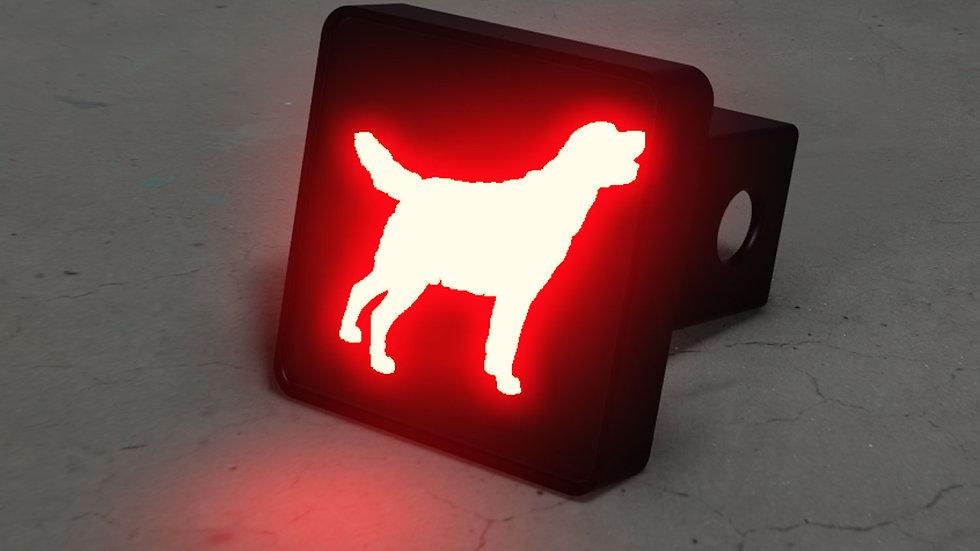 Labrador Retriever LED Brake Hitch Cover