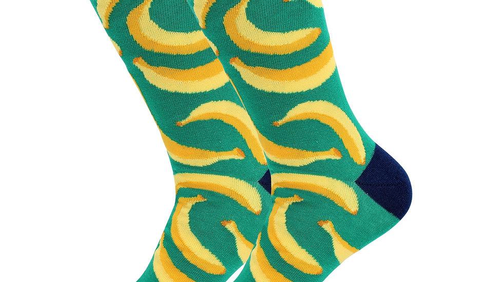 Sick Socks – Bananas – Favorite Foods Casual Dress Socks