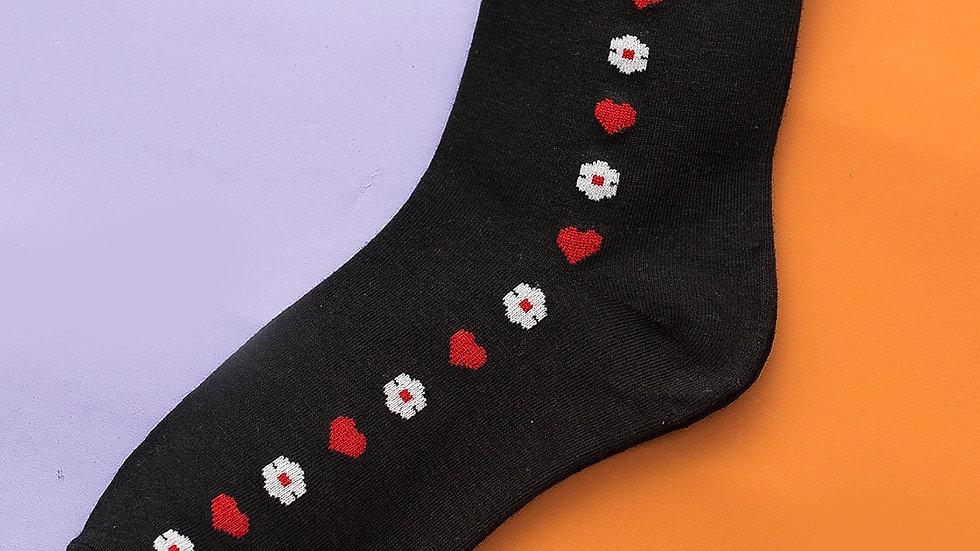 Heart Pattern Socks