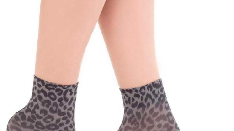 Leopard Lady Socket Gray Printed
