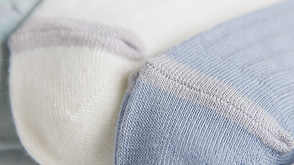 Ribbed Ankle Socks 5pairs