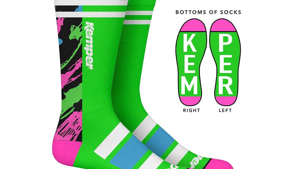 Kemper Snowboards Rampage Crew Sock